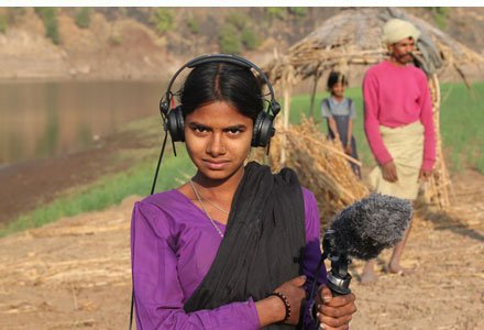Field recording workshops in the Narmada Valley with Leah Barclay
