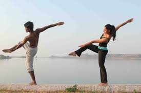 The DAM(N) Project Dancers on the Narmada River
